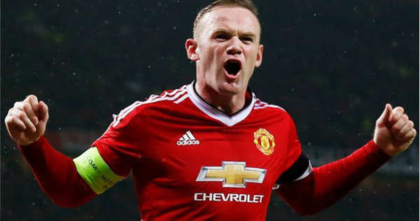 Rooney dan Anthony Martial bertandem di depan