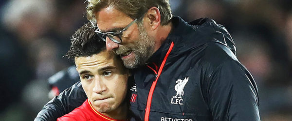 Phillippe Coutinho Jurgen Klopp, Phillippe Coutinho, Jurgen Klopp, Premier League, Liga Linggris, Phillippe Coutinho Liveprool to Barcelona, Phillippe Coutinho Liveprool, to Barcelona, Phillippe Coutinho, Liveprool to Barcelona, Phillippe Coutinho to Barcelona,, Liveprool FC