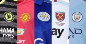 Premier League kit, Premier League, Liga Inggris